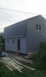 дачный дом 6,0 x 8,0