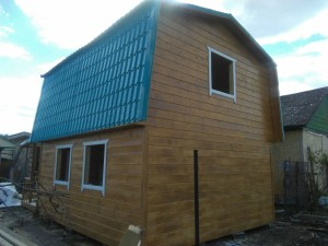 дачный дом 5,0 x 6,0