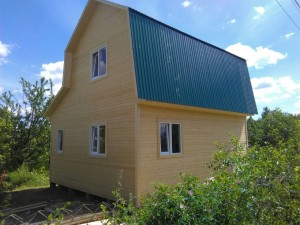 дачный дом 4,0 x 6,0