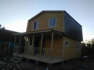 дачный дом 6,0 x 6,0